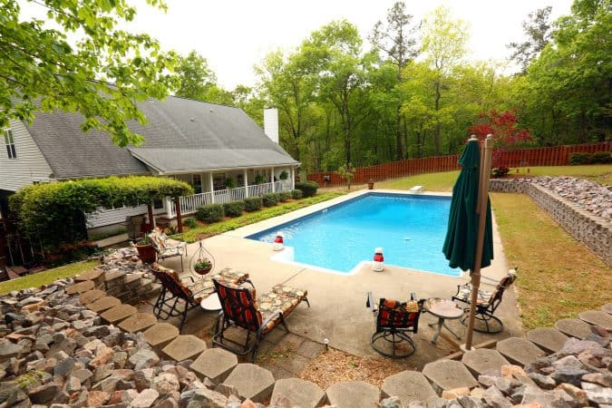 The Masters Southern House Backyard Swimming Pool Accommodation Patronscaddy Luxury