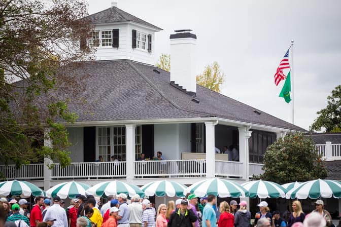 The Clubhouse At Augusta National